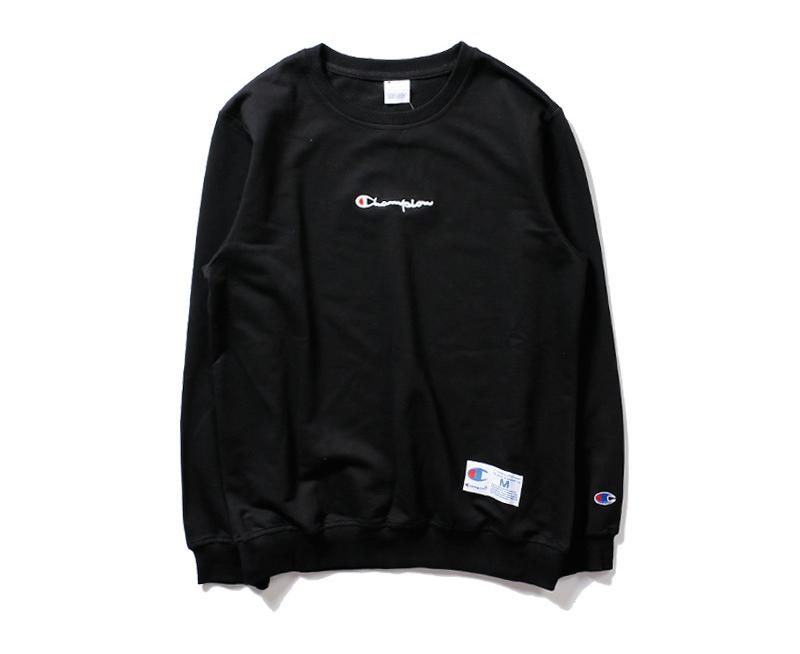 เสื้อ Champion Long Sleeve Logo Embroidered