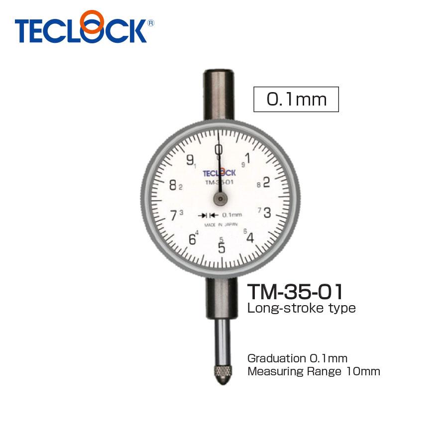 ไดอัลเกจวัดความเรียบ / Small Dial Indicator (TM-35-01) Teclock