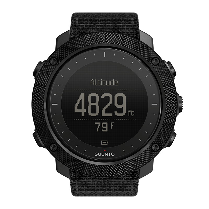 SUUNTO TRAVERSE ALPHA #STEALTH BLACK