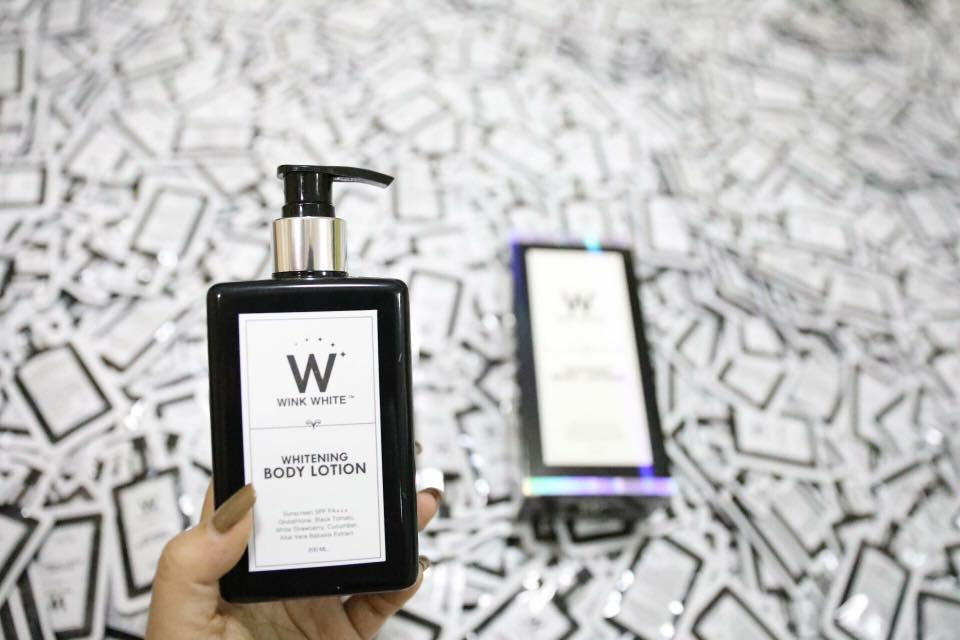 Wink White Whitening Body Lotion