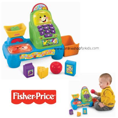 เครื่องคิดเงิน Fisher-Price Laugh and Learn Magic Scan Market