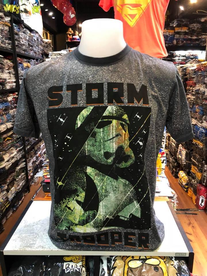 สตาร์วอร์ สีดำ (Strom troope green CODE:1291)