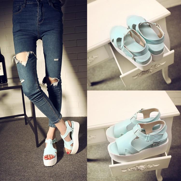 Preorder รองเท้าแฟชั่น สไตล์เกาหลี 34-39 รหัส 55-7699