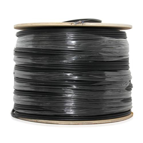 Cable 500M RG6/168 Power Line PeopleFu (Black)
