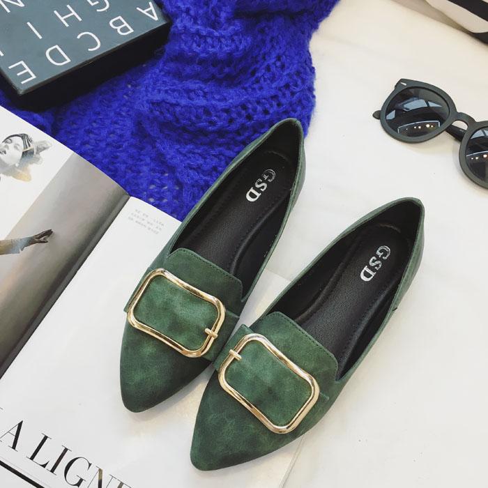 Preorder รองเท้าแฟชั่น สไตล์เกาหลี 35-41 รหัส BG-5766