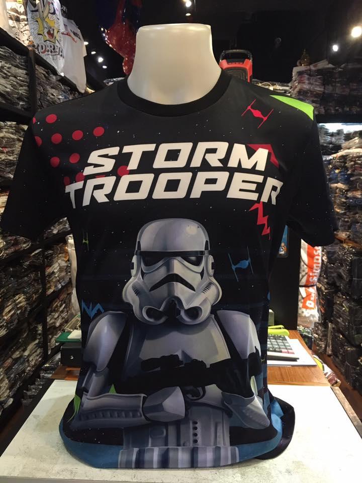 สตาร์วอร์ ผ้า premium SCUBA (Storm trooper CODE:0794)