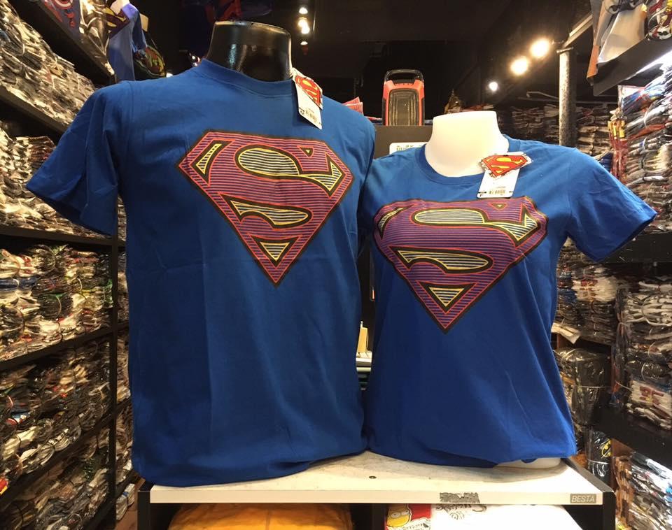 ซุปเปอร์แมน สีน้ำเงิน (Superman blue logo red)