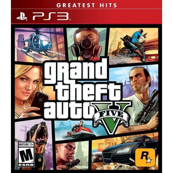 "PS3: Grand Theft Auto V - Greatest Hits ""GTA V"" (Z1) [ส่งฟรี EMS]"