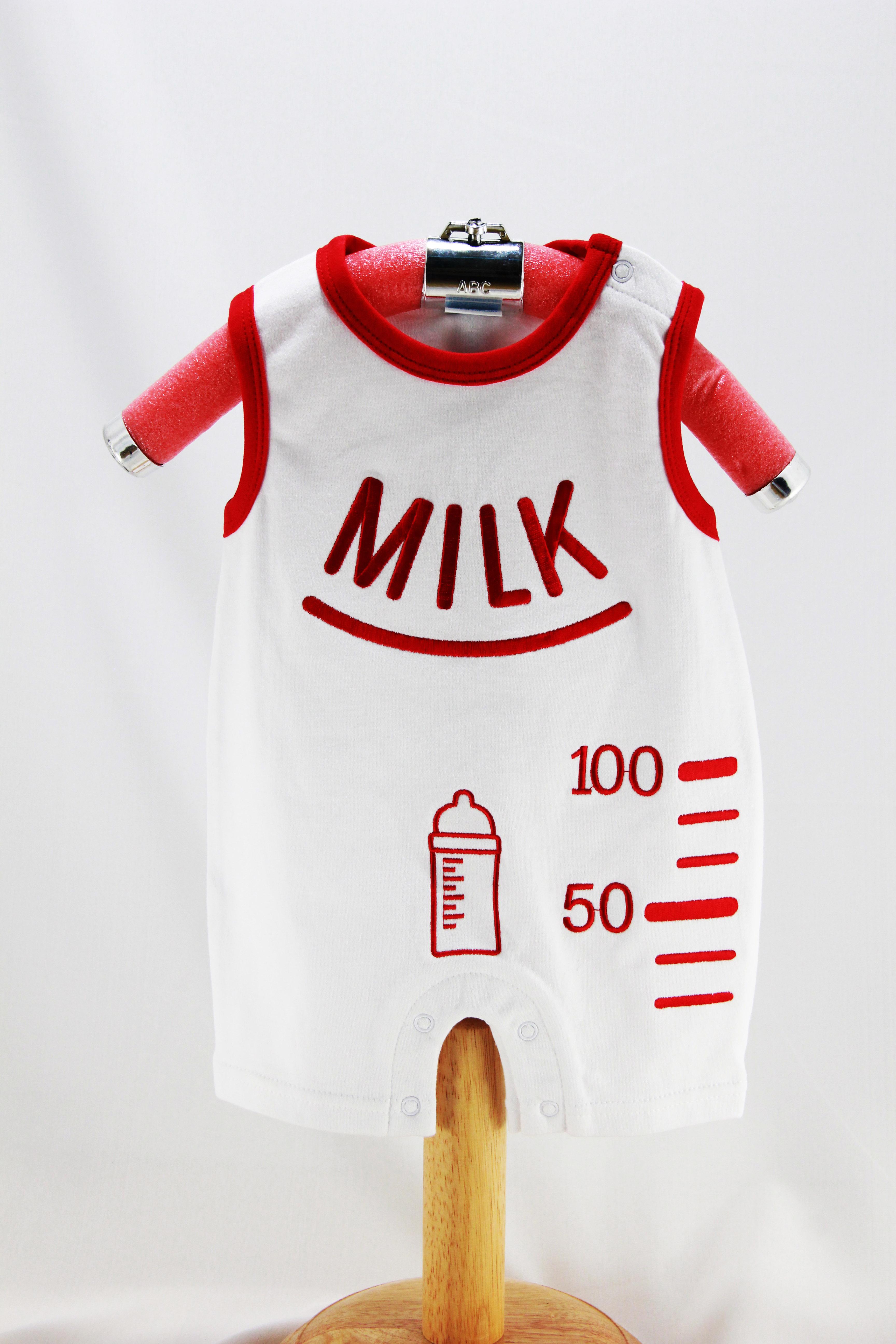 บอดี้สูท ลาย Milk
