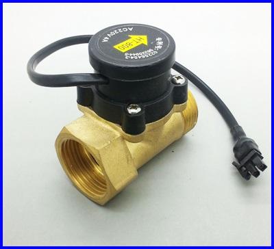 """โฟลว์สวิทช์ ตรวจจับการไหลผ่านของน้ำ Water pump flow switch 220VAC Inch 1"""" รุ่น HT-800"""