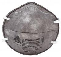 หน้ากากป้องกันฝุ่น ละออง และสารเคมี 3M-8247 R95