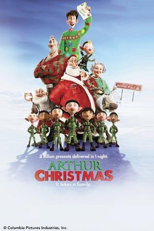 Arthur Christmas / ของขวัญจานด่วน ป่วนคริสต์มาส / 1 แผ่น DVD (พากษ์ไทย+บรรยายไทย)