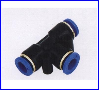 ขั้วต่อลม ข้อต่อลม อุปกรณ์ลม SPE-4 SPE series union tee(จำนวน10ชิ้น)