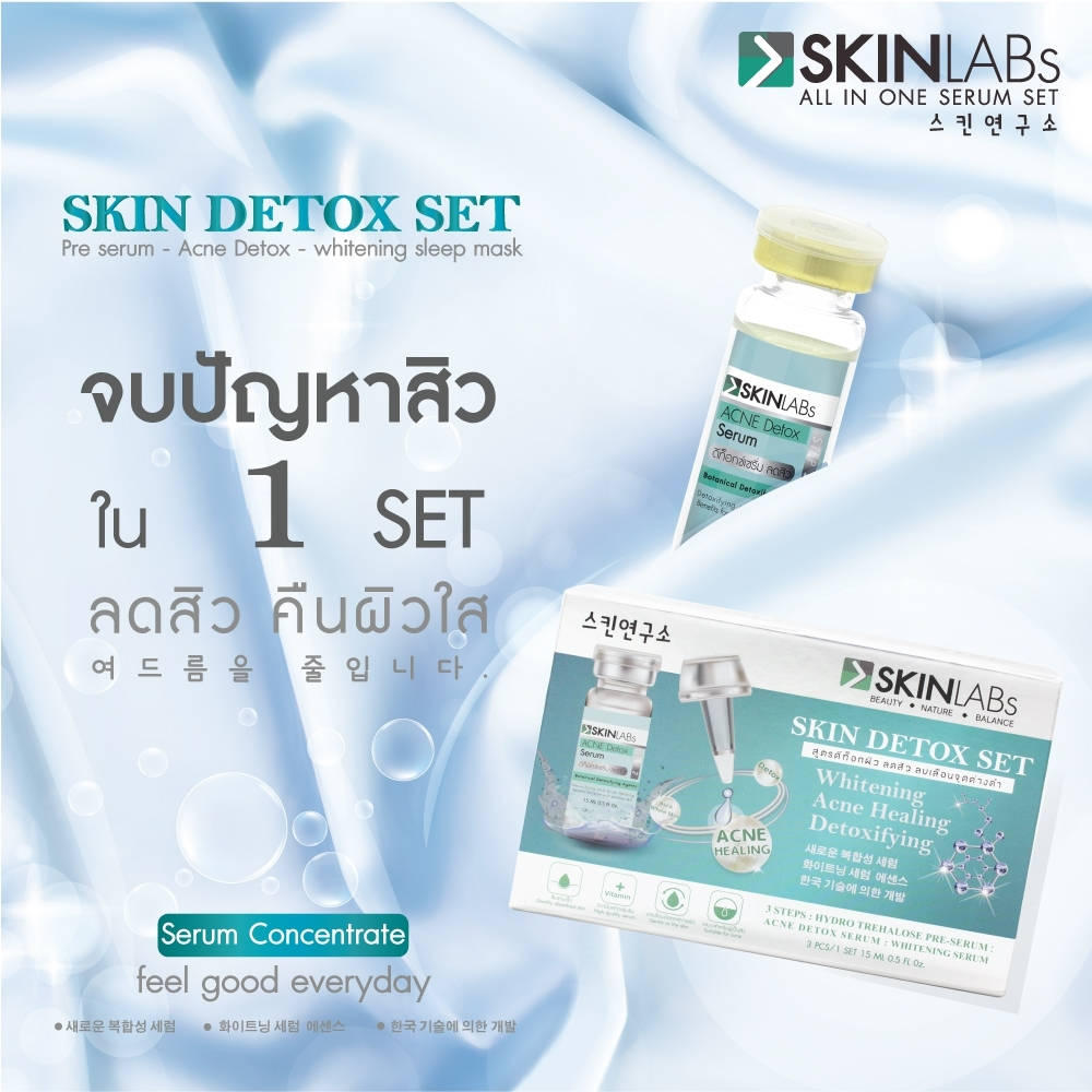 Skinlabs detox set