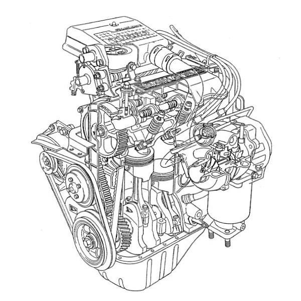 คู่มือซ่อมและ ข้อมูลเทคนิค เครื่องยนต์ CB23, CB61, CB80 รหัสสินค้า D-010