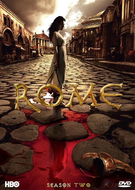 Rome Season 2 / โรม มหาอาณาจักรวิปโยค ปี 2 / 5 แผ่น DVD (พากษ์ไทย+บรรยายไทย)