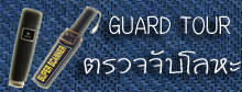 Guard Tour, ตรวจจับโลหะ