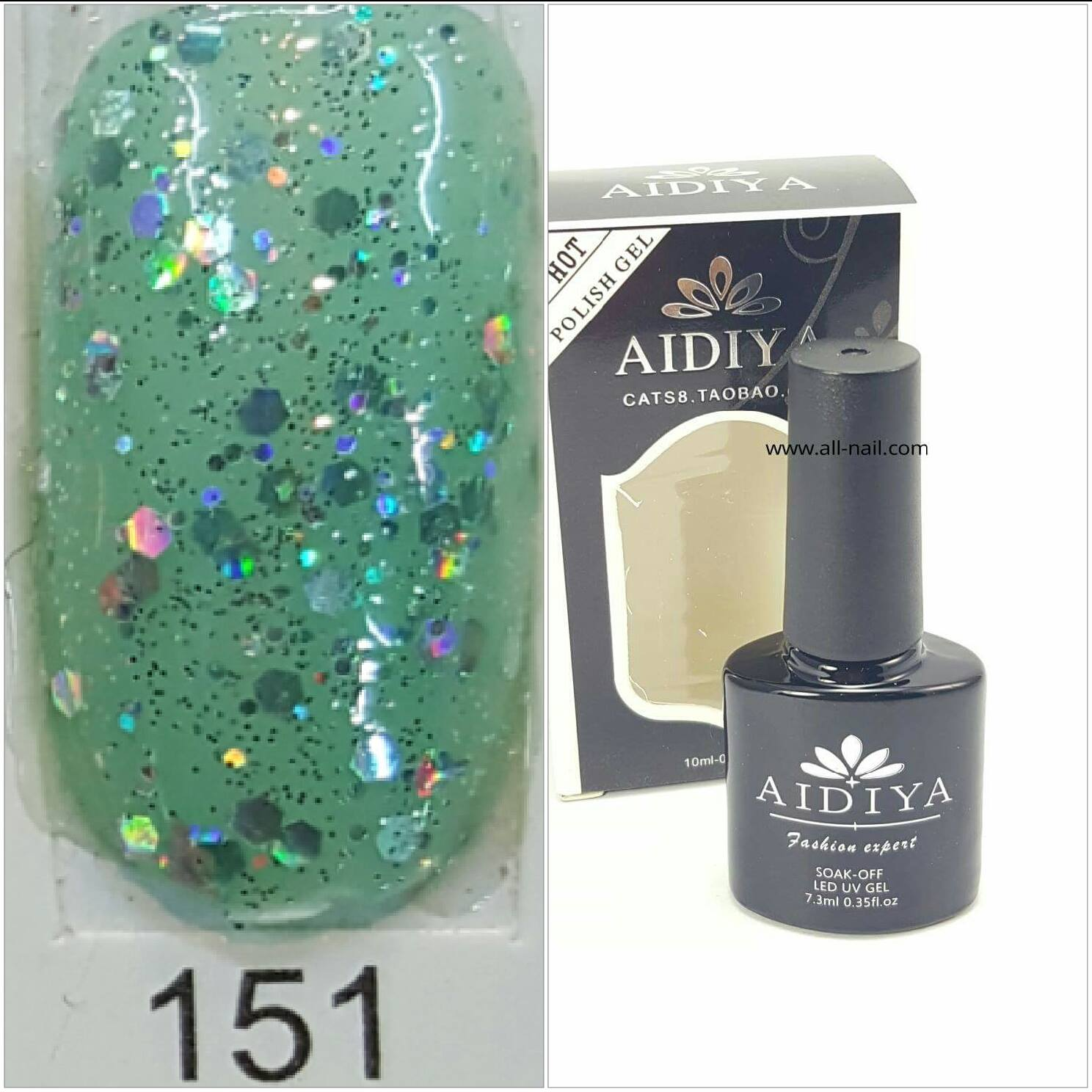 สีเจลทาเล็บ AIDIYA #151