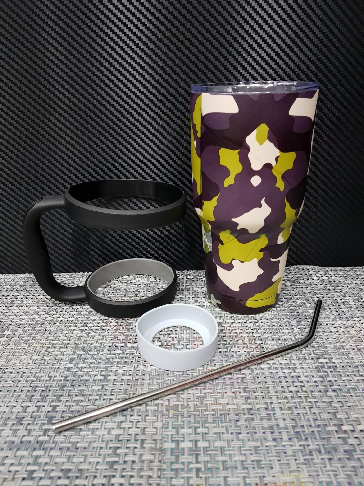 ชุดแก้วเยติ 30 ออนซ์ ลายพรางทหาร สีน้ำตาล