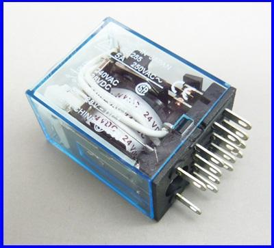 รีเลย์ไฟฟ้า รีเลย์Omron relay MY4NJ 5A Control Voltage 24V DC