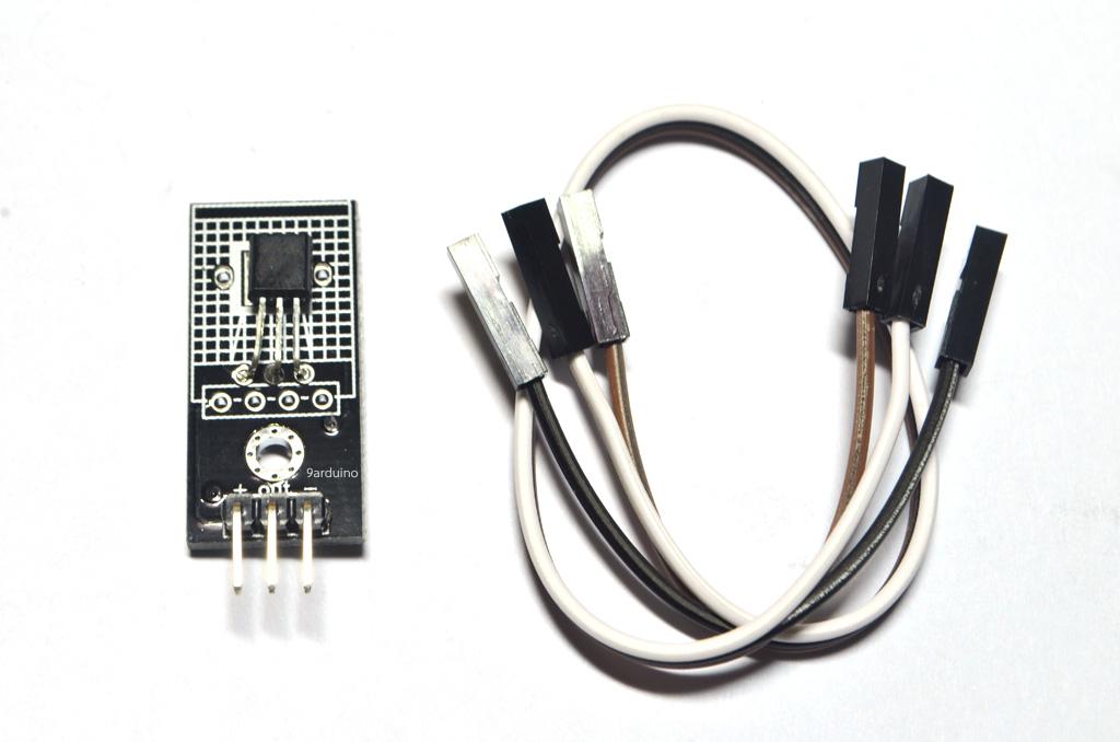 Module LM35 เซนเซอร์วัดอุณหภูมิ แบบ analog Arduino