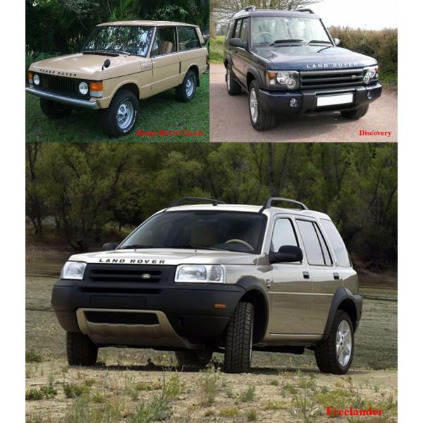 คู่มือซ่อมรถยนต์ LAND ROVER รวมหลายรุ่น (เครื่องยนต์ 300Tdi, V8i_, K, L Series)(EN)