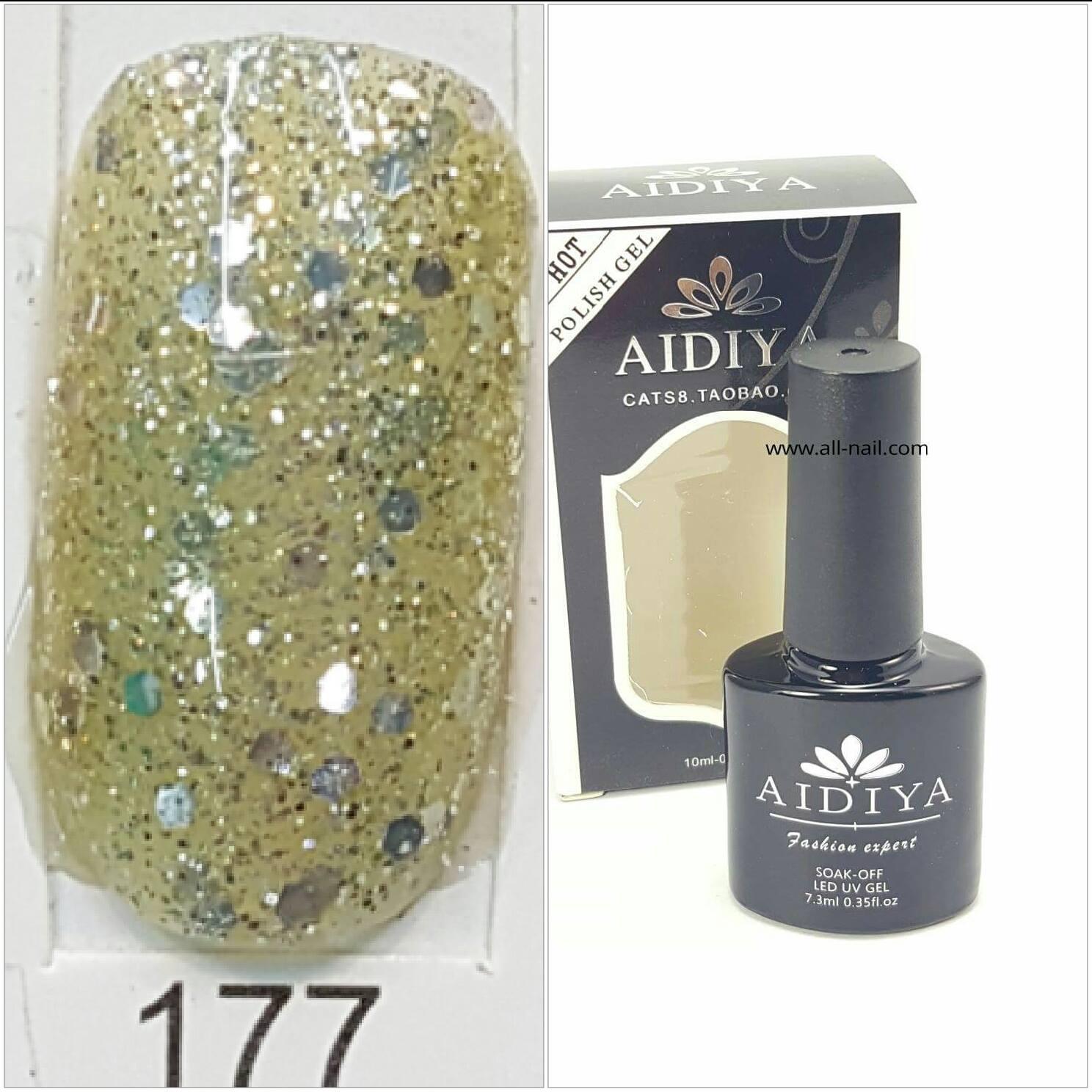 สีเจลทาเล็บ AIDIYA #177