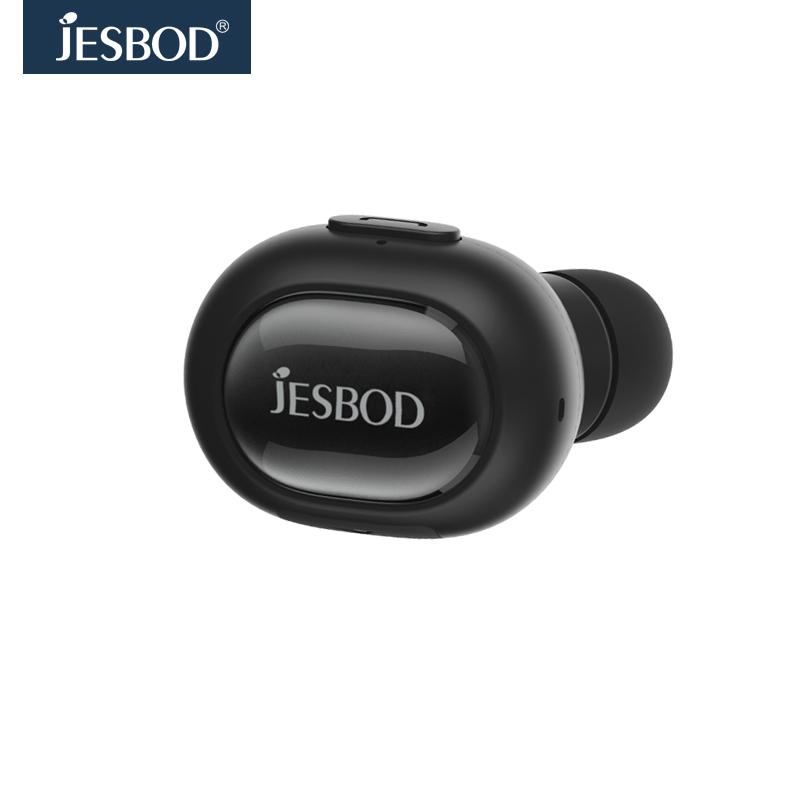 Jesbod หูฟังบลูทูธไร้สาย V4.1 ขนาดมินิแบบอินเอียร์ พร้อมไมโครโฟน