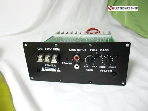 ภาคขยายเสียง Subwoffer 150 Watts RMS 7500 วัตต์ PMPO
