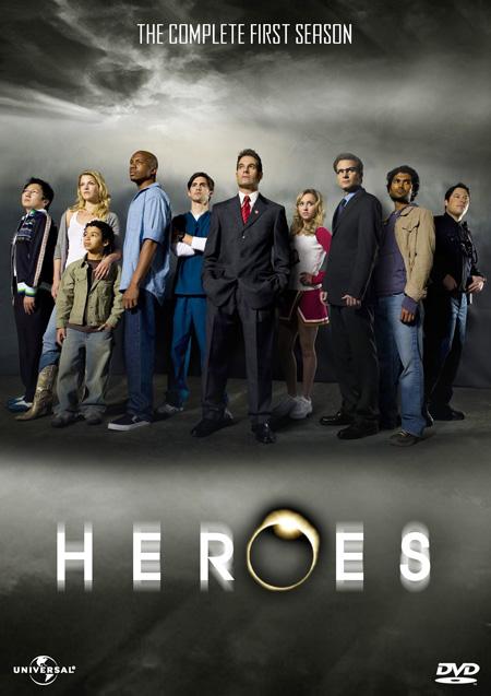Heroes Season 1 / ฮีโร่ ปี 1 / 6 แผ่น DVD (พากษ์ไทย+บรรยายไทย)