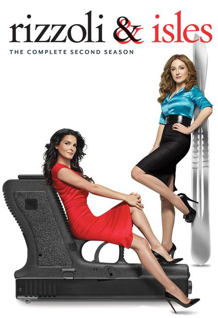 Rizzoli & Isles Season 2 / สองสวยสืบสะบัด ปี 2 / 3 แผ่น DVD (บรรยายไทย)