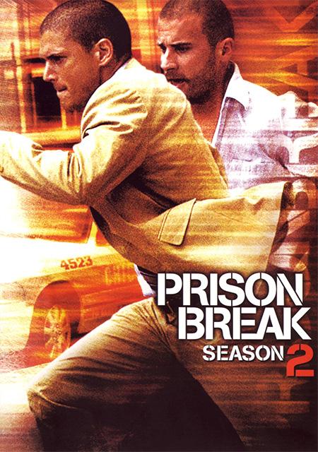 Prison Break Season 2 / แผนลับแหกคุกนรก ปี 2 / 6 แผ่น DVD (พากษ์ไทย+บรรยายไทย)