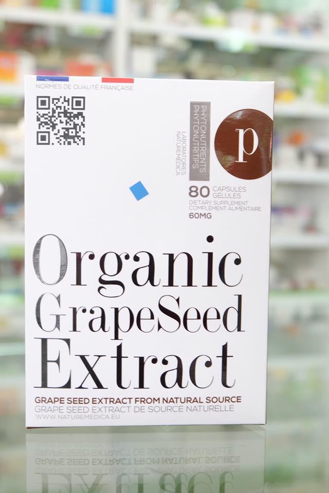 NM Grape seed extract 50 mg 80 เม็ด