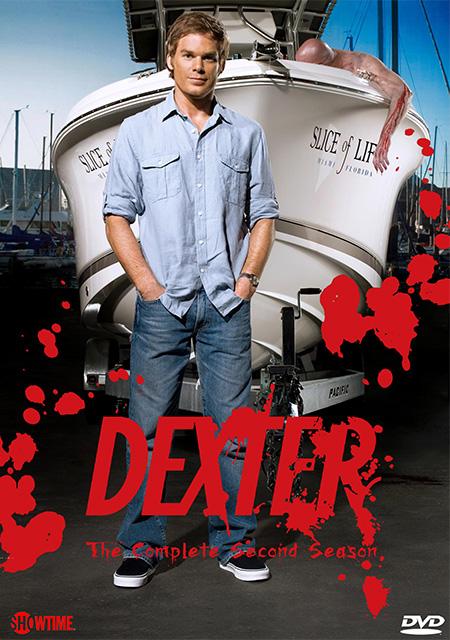 Dexter Season 2 / เด็กซเตอร์ เชือดพิทักษ์คุณธรรม ปี 2 / 4 แผ่น DVD (บรรยายไทย)