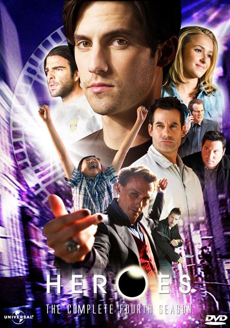 Heroes Season 4 / ฮีโร่ ปี 4 / 5 แผ่น DVD (พากษ์ไทย+บรรยายไทย)