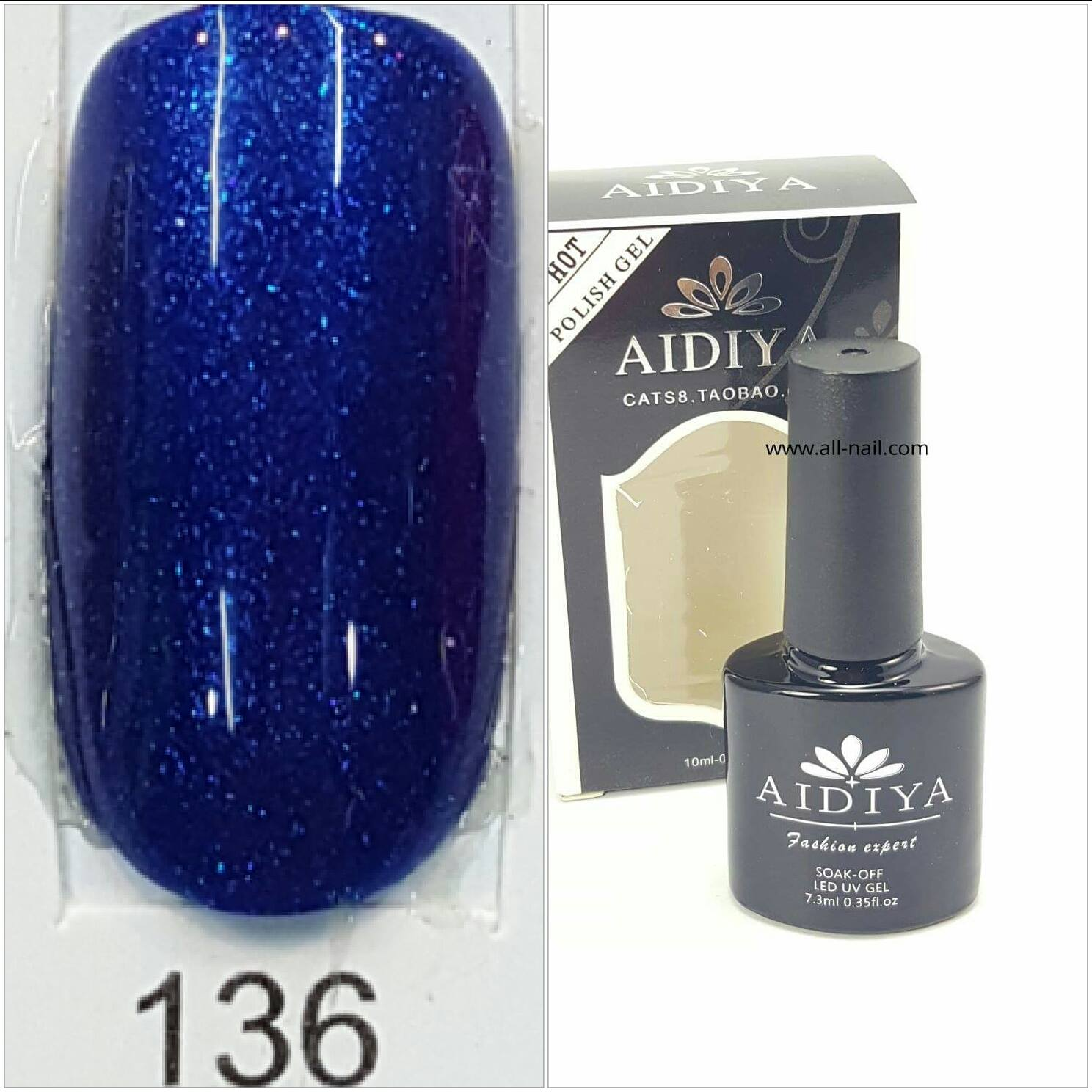 สีเจลทาเล็บ AIDIYA #136