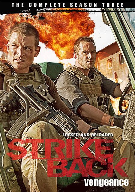 Strike Back Season 3 Vengeance (2012) / สองพยัคฆ์สายลับข้ามโลก ปี 3 / 4 แผ่น DVD (บรรยายไทย)