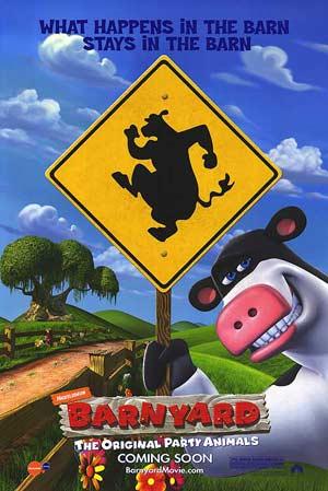 Barnyard / เหล่าตัวจุ้นวุ่นปาร์ตี้ / 1 แผ่น DVD (พากย์ไทย+บรรยายไทย)