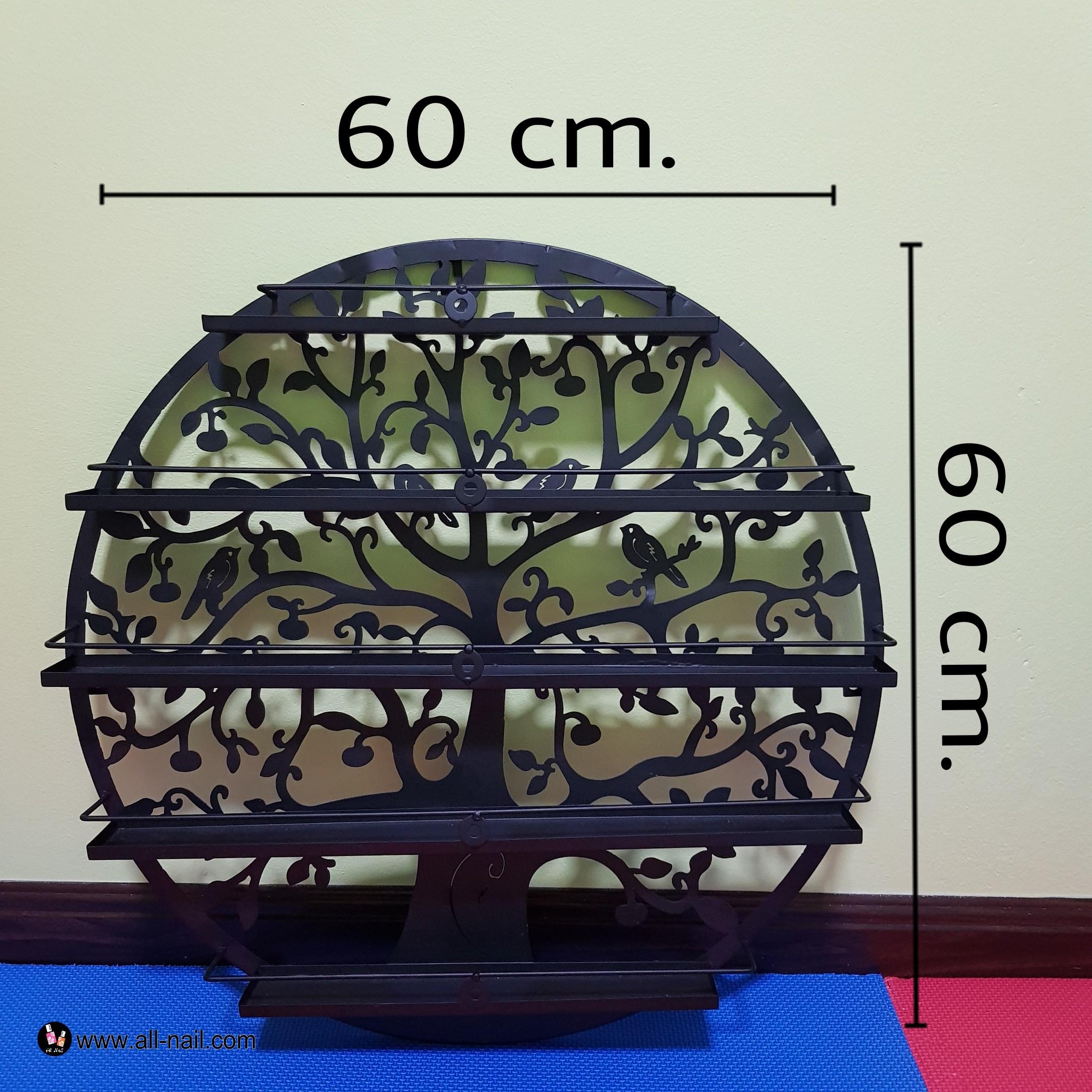 ชั้นวางสีทาเล็บ (ขนาด60cm.)