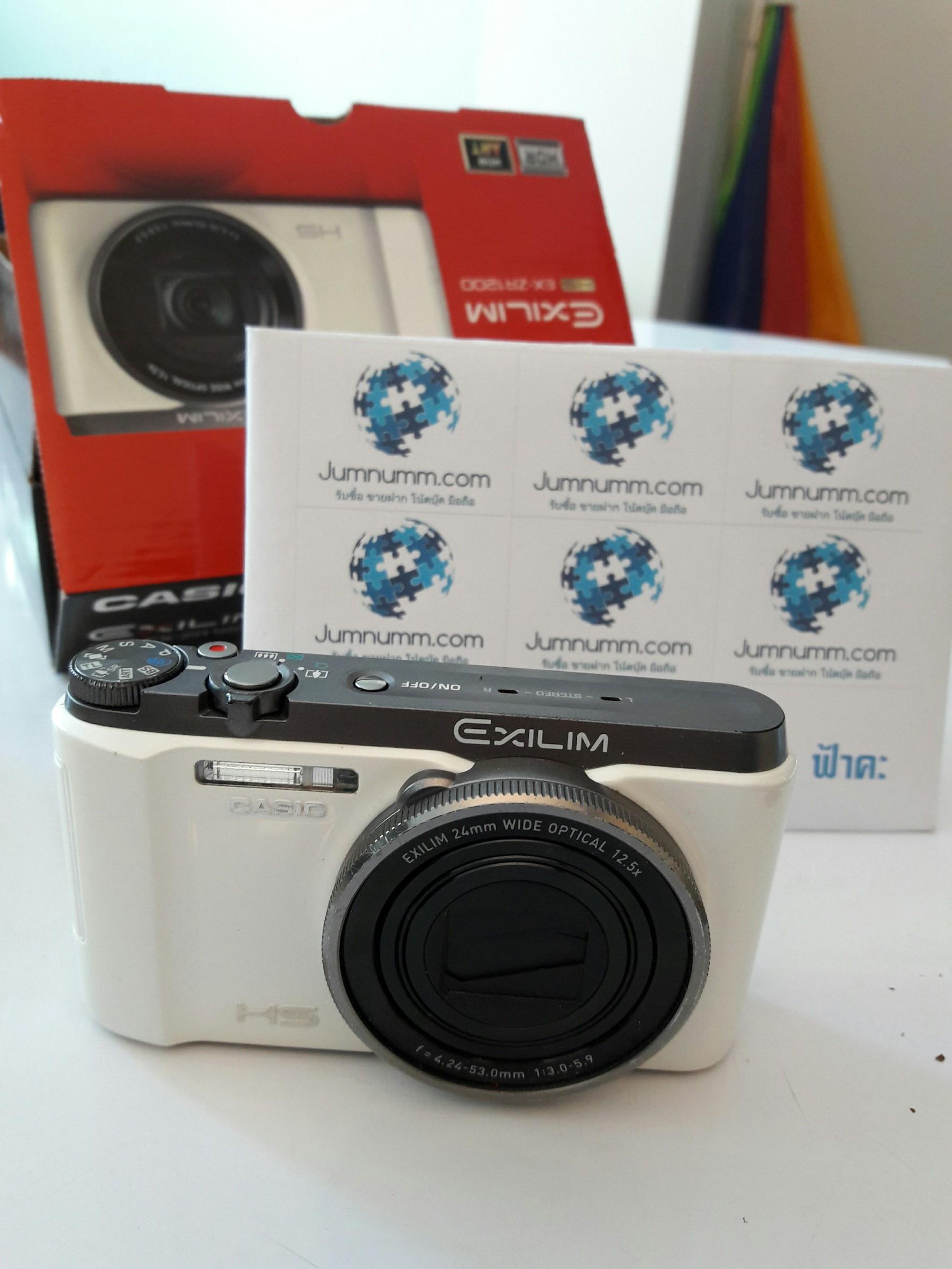 ขายกล้องฟรุ้งฟริ้ง Casio Zr1200 (มือ2) สภาพ 95%