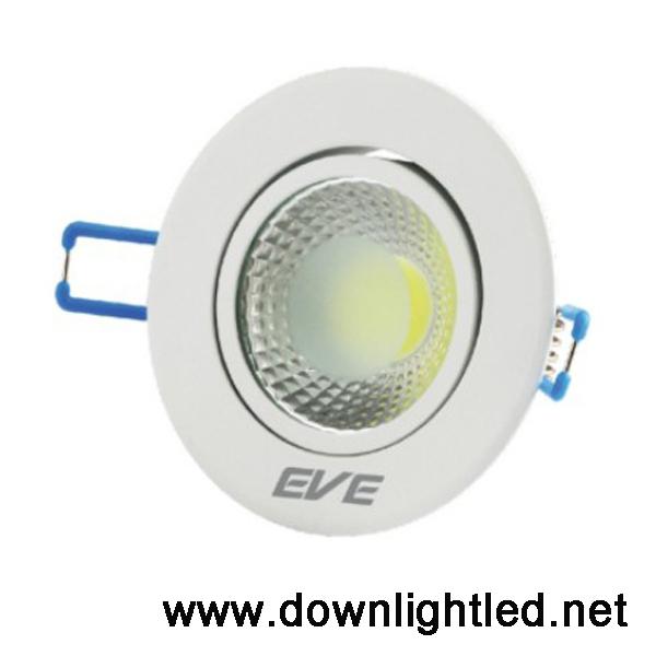 ดาวน์ไลท์ LED COB 5w (แสงส้ม)
