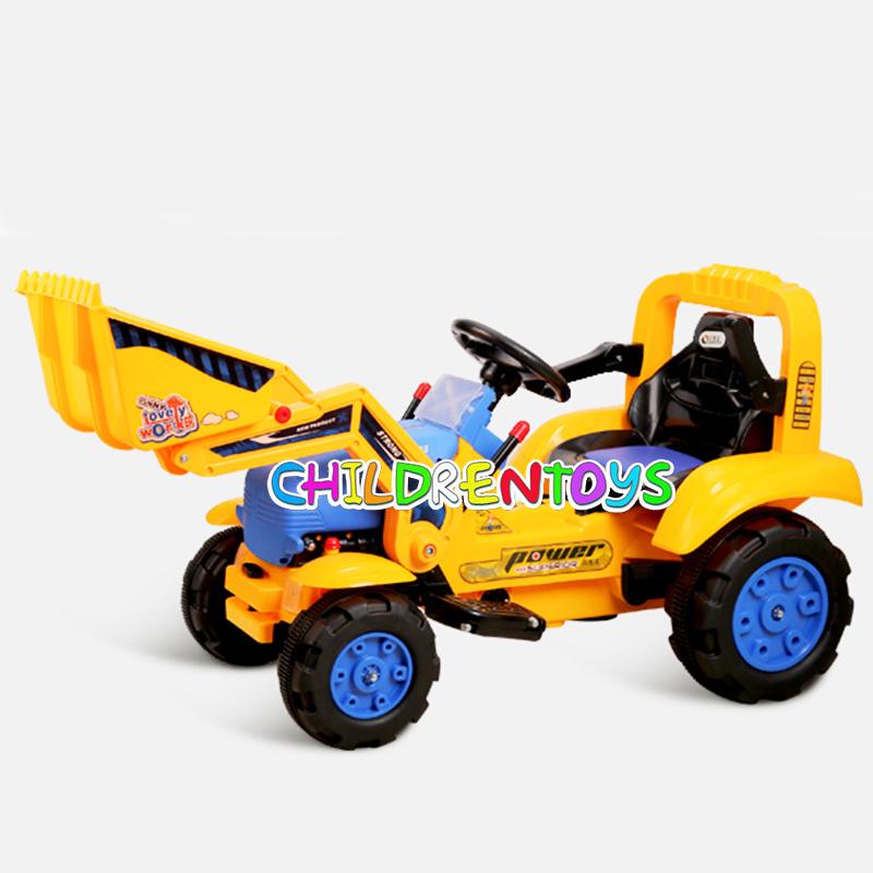 รถแบตเตอรี่ ตักดิน LNW002 สำหรับเด็ก