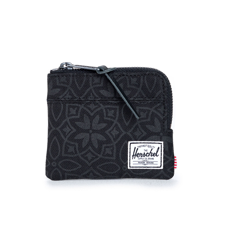Herschel Johnny Wallet - Black Khatam