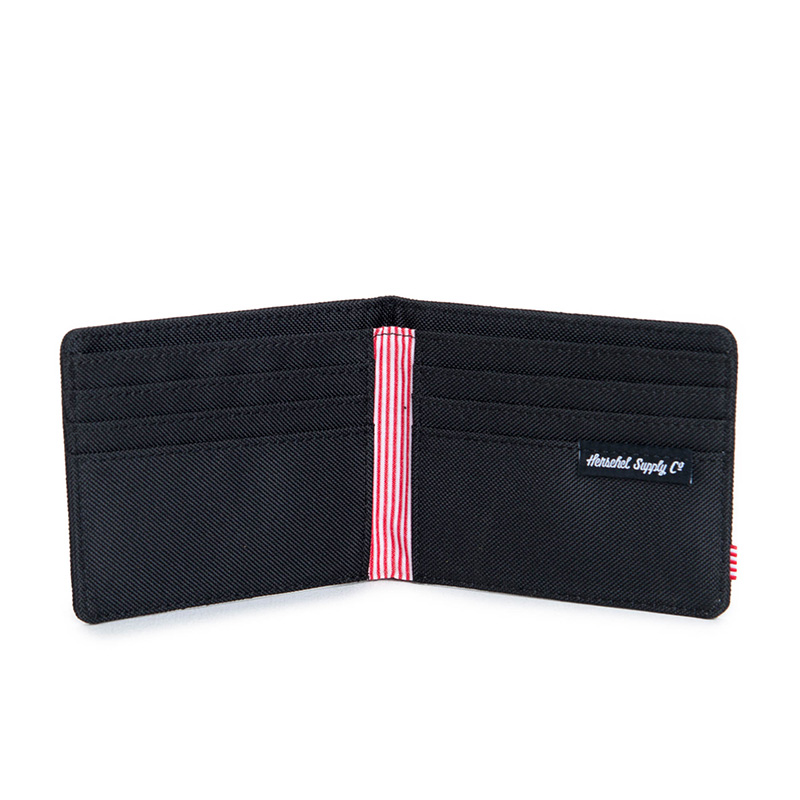 Herschel Roy Wallet - Quilted Black