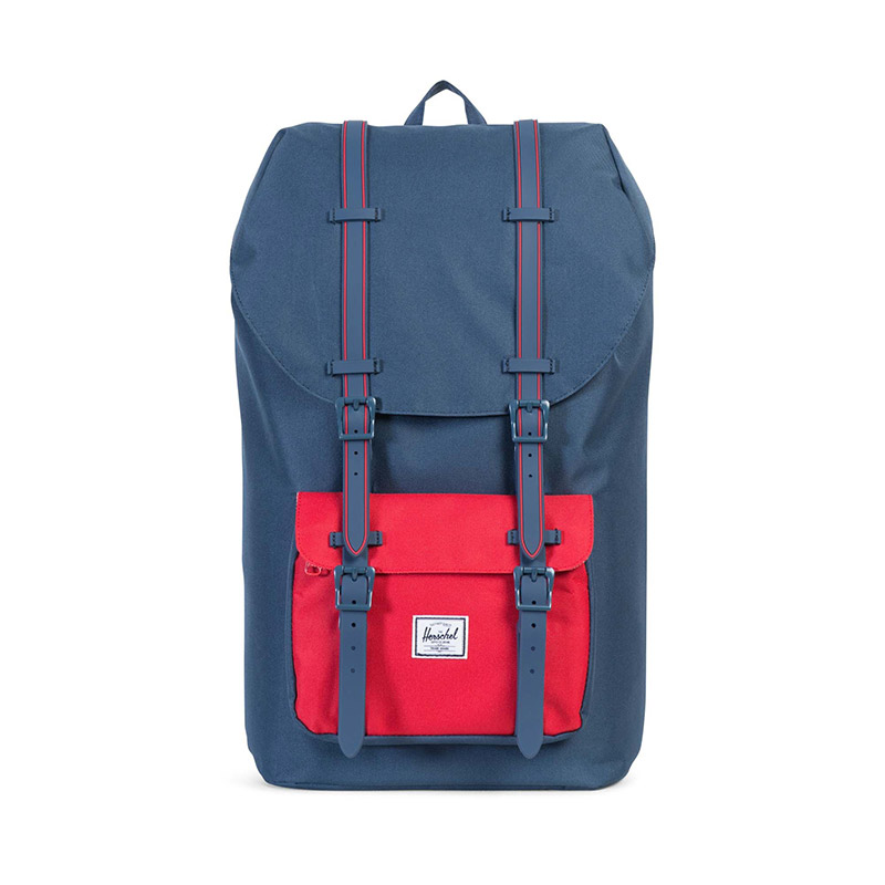 Herschel Little America - Navy / Navy Rubber / Red Insert