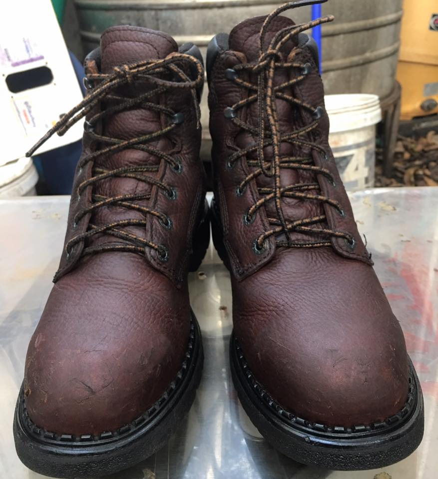 Red wing 2326 safety boot หัวเหล็ก made in usa size 9.5b