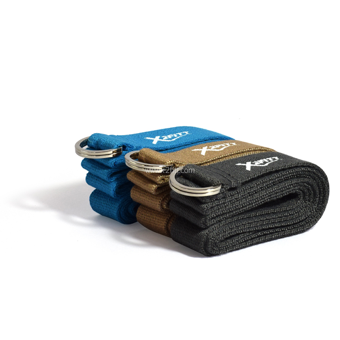 เข็มขัดโยคะ X2FITT™ Cotton Yoga Straps ยาว 6ฟุต