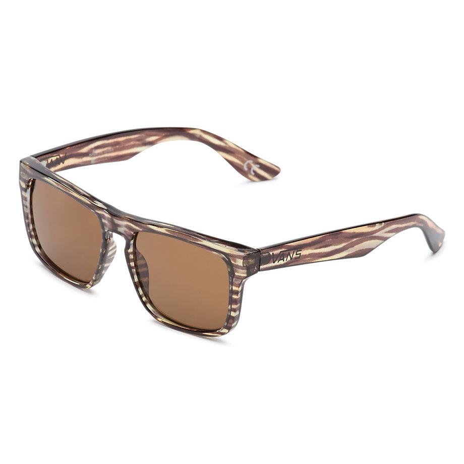 Vans Squared Off Sunglasses - Horizontal Tortoise