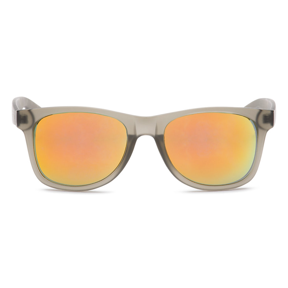 แว่น Vans Spicoli 4 Sunglasses - Clear Frosted Charcoal
