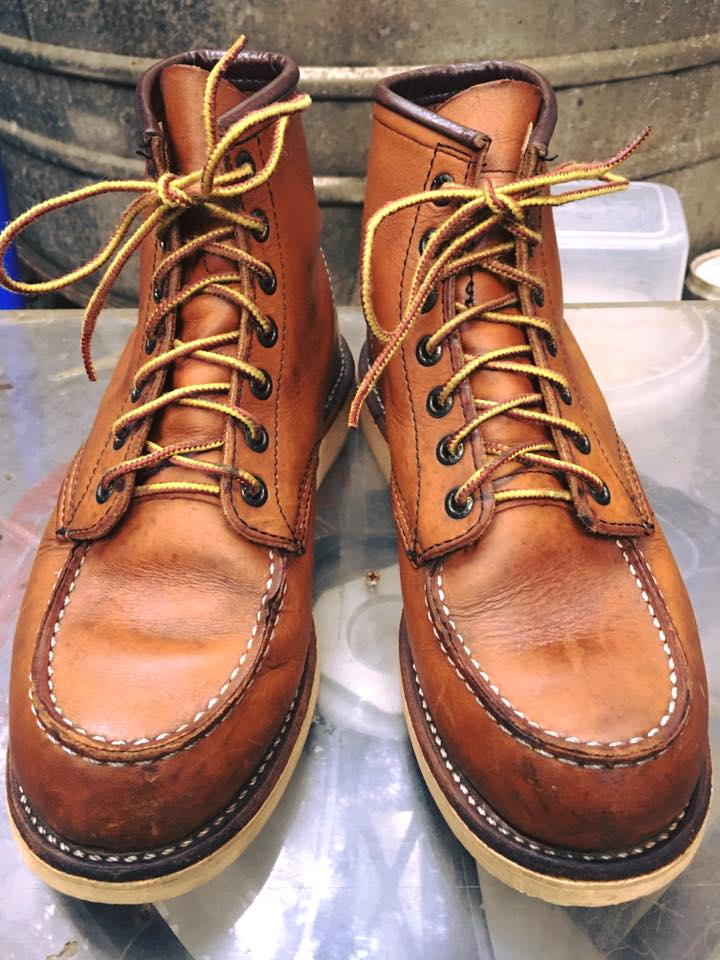 Red wing 875 size 6E